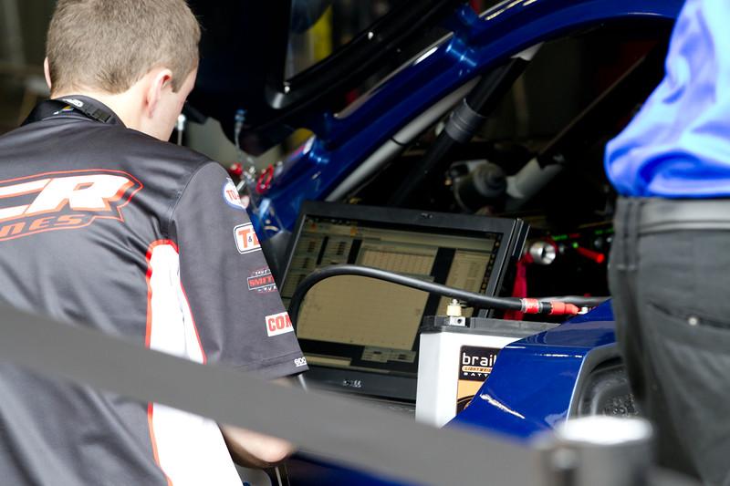 The Rolex Series Opener Week - Captured on Friday Jan 27, this is Corvette Parade Lap. Spirit of Daytona Garage.