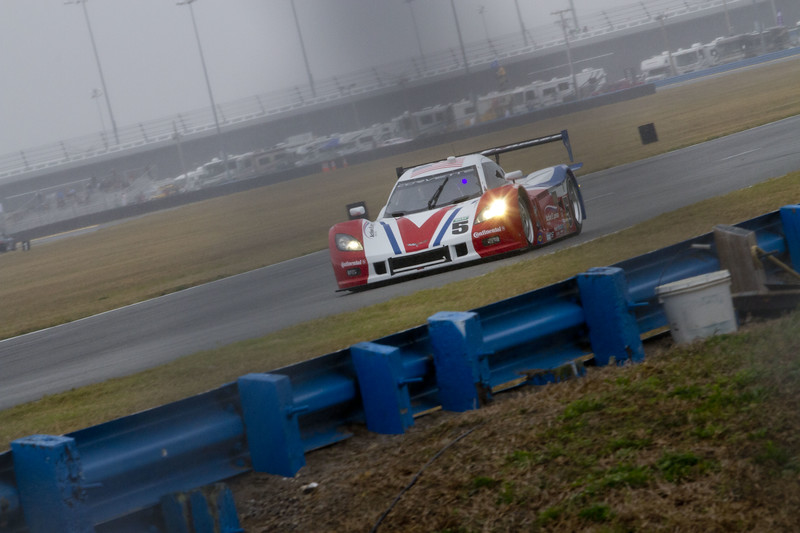 The Rolex Series Opener Week - Captured on Friday Jan 27.  DP Practice. Rain Day. Daytona International Speedway -