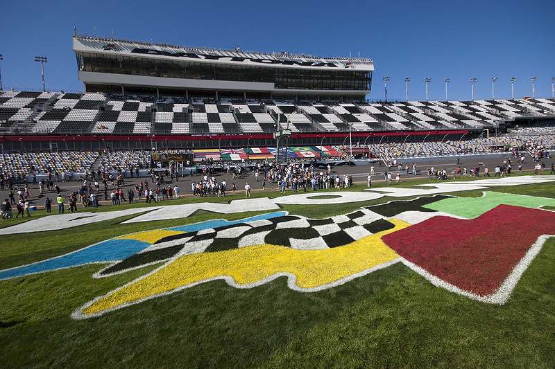 Race Day! First stop - The Garages, then the Pre-Race celebration on Pit Road, Start, 24 hours of Running wide open and the finish!