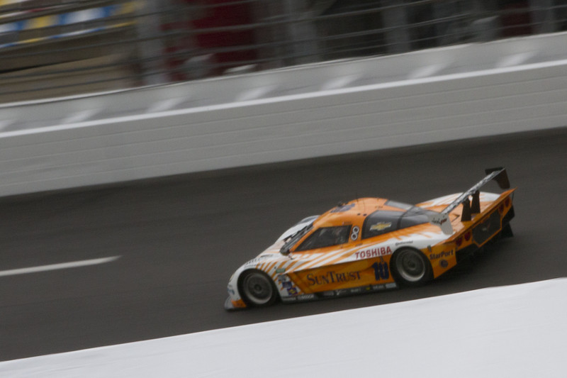 The Rolex Series Opener Week - Captured on Friday Jan 27.  DP Practice # 10 Suntrust Corvette.