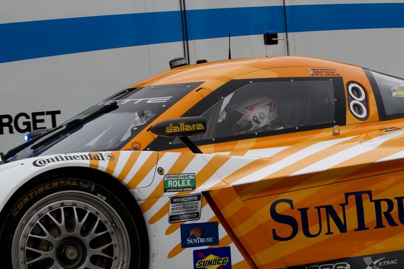 The Rolex Series Opener Week - Captured on Friday Jan 27. #10 Suntrust Corvette Garage & rolling out for DP practice.