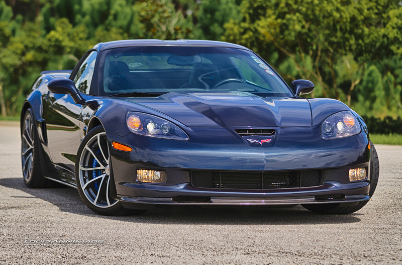 A Beautiful Brute ~ 2013 Corvette ZR1 - in Night Race Blue Metallic...