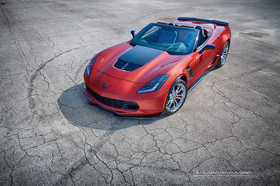 A Rare Daytona Sunrise Orange Metallic Z06/Roadster Combination - 2016 Corvette