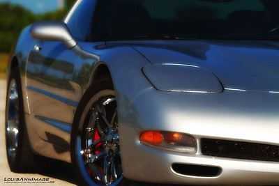1999 Corvette Coupe - Sebring Silver, Six Speed, Modified - Image Capture - July 10, 2012