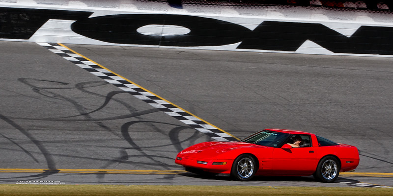60th Anniversary Corvette Cruise - Orlando to Daytona Intl Speedway & Pace Lap
