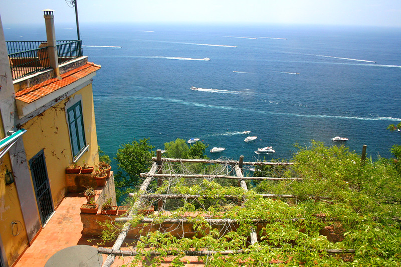The Amalfi Coast and Amalfi, Italy