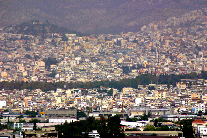 Athens - From atop the Acropolis.