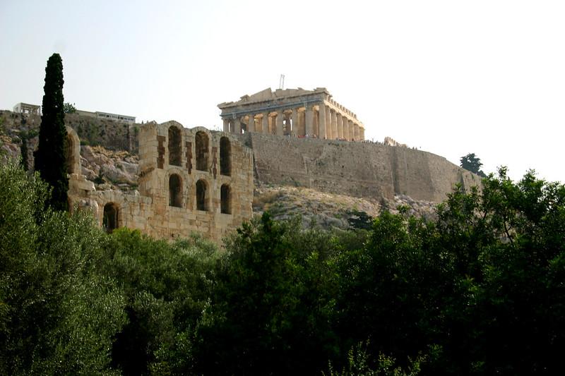 Acropolis - Street Level view
