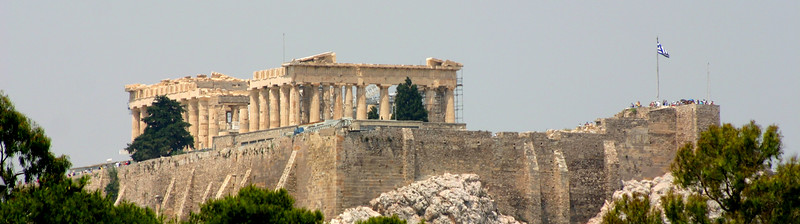 Acropolis - from afar.