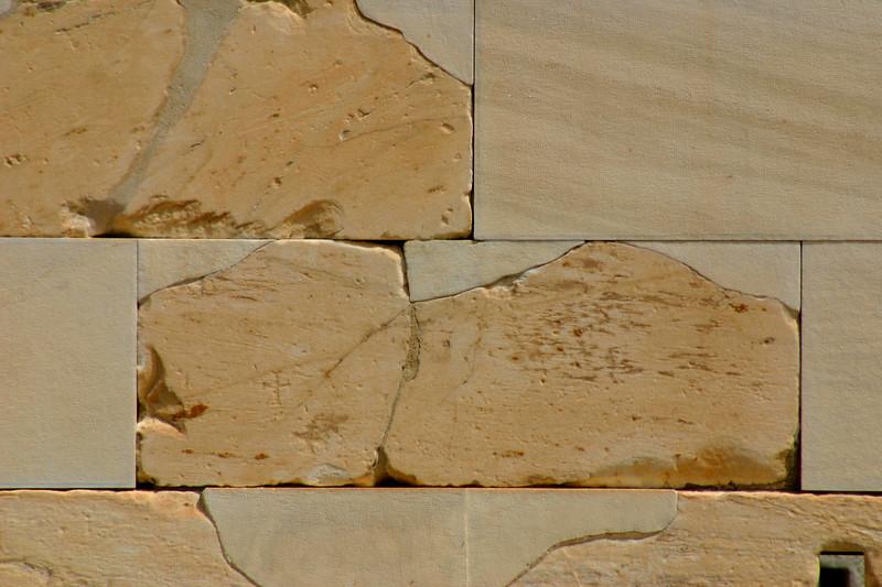 The Acropolis - Block Restoration Detail, the Erechtheion.