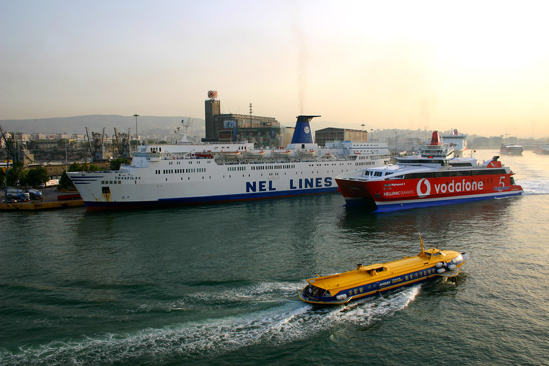 Port of Piraeus - Athens, Greece