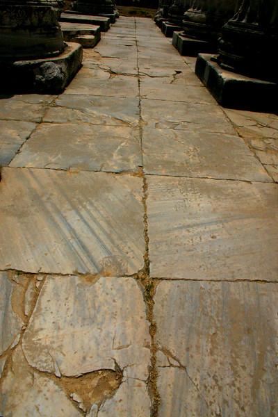 Didyma, Didim, Turkey - the site of the ruins of the Tempel of Apollo