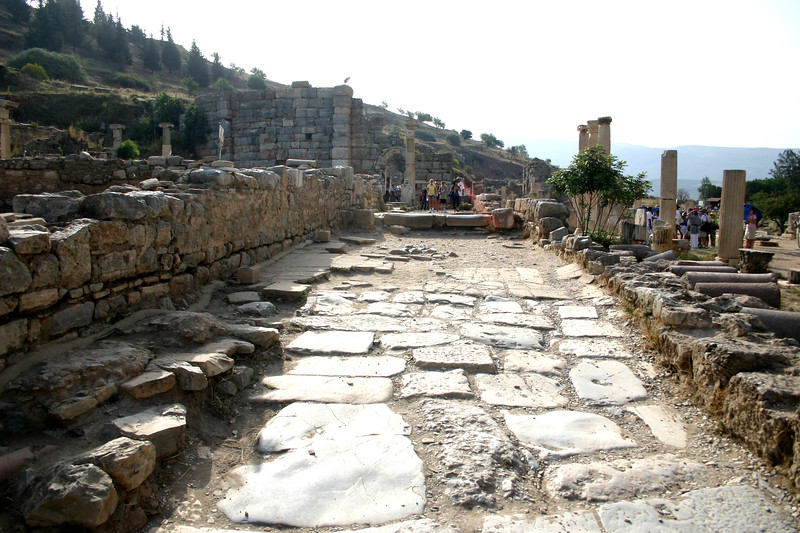 Curetes Way - Ephesus was an ancient Roman and Greek city on the west coast of Anatolia, near present-day Selçuk, Izmir Province, Turkey.