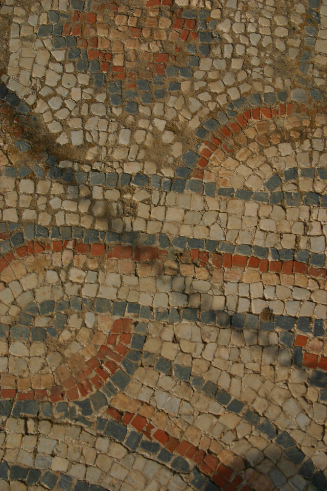 Mosaic flooring - Ephesus was an ancient Roman and Greek city on the west coast of Anatolia, near present-day Selçuk, Izmir Province, Turkey.