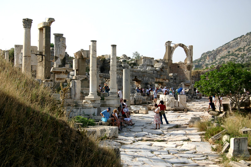 Ephesus was an ancient Roman and Greek city on the west coast of Anatolia, near present-day Selçuk, Izmir Province, Turkey.