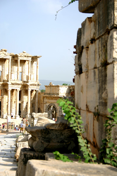Library of Celcus - Ephesus was an ancient Roman and Greek city on the west coast of Anatolia, near present-day Selçuk, Izmir Province, Turkey.