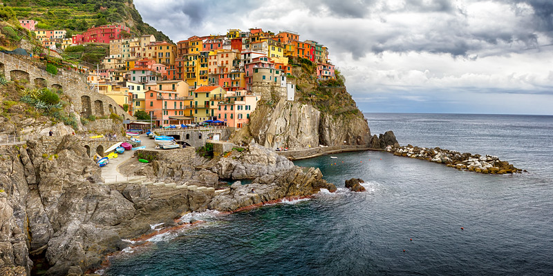 Jewel of Liguria, Manarola ~ Cinque Terre, La Spezia, Italia