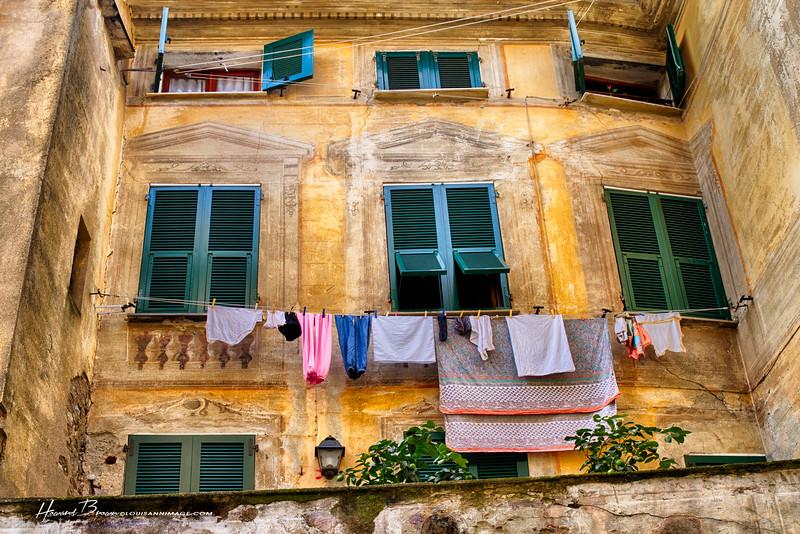 Monterosso walls...