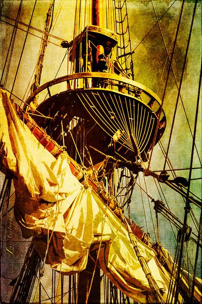 The frigate Shtandart...