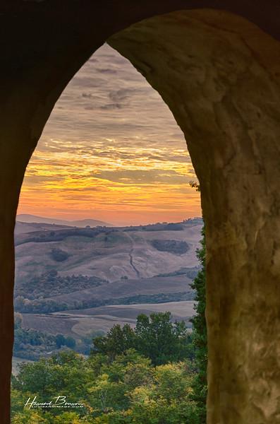 Hillsides of Volterra...