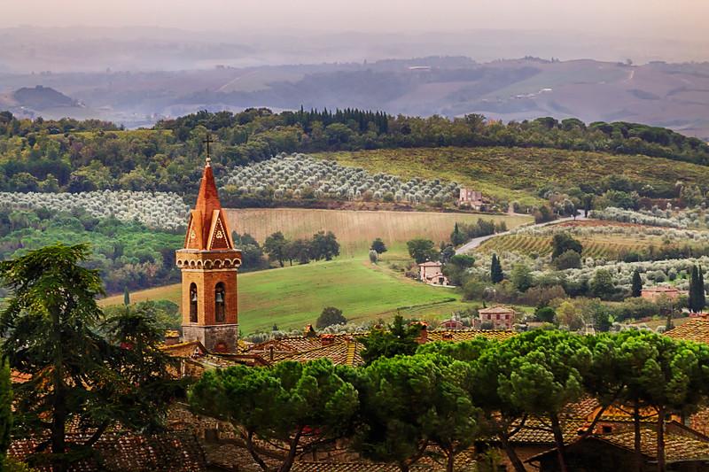 Above San Gusmè II ~ Chianti, Toscana, Italia