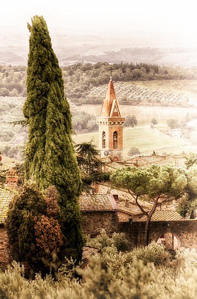Above San Gusmè ~ Chianti, Toscana, Italia