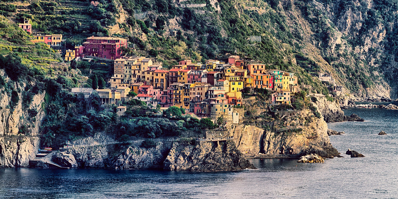 Jewel of the Cinque Terre ~ Manarola - II