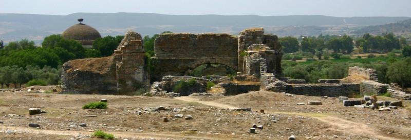 The ruins of Miletus, Turkey