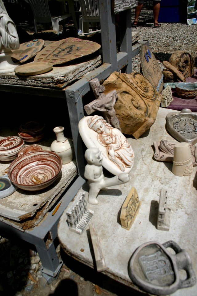 Shopping - the ruins of Miletus, Turkey