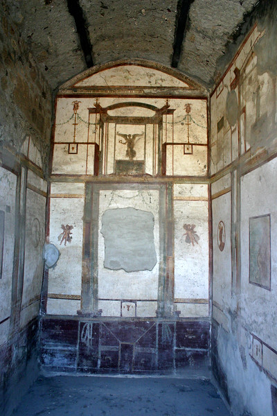 Pompeii - the Fresco's, city streets, nearby public markets, temples, squares, ampatheater and yes, even a brothel - complete with frescoed images of patrons and employees.