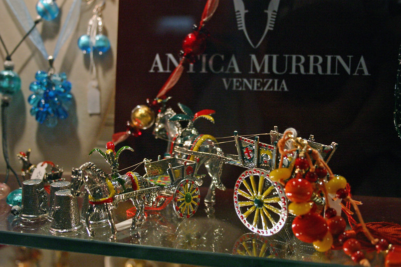 Curio display - Shopping Taormina - A mountainside city set intentionally on the cliffs to allow its inhabitants to defend themselves from ancient invaders, the scenes of Taormina are as picturesque as any in Europe.