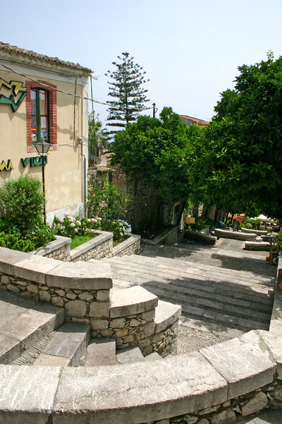 Terraced walkways - A mountainside city set intentionally on the cliffs to allow its inhabitants to defend themselves from ancient invaders, the streets of Taormina are as picturesque as any in Europe.