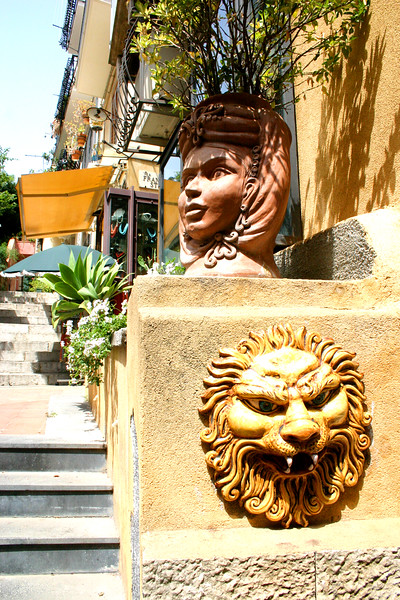 Street Scenes - A mountainside city set intentionally on the cliffs to allow its inhabitants to defend themselves from ancient invaders, the streets of Taormina are as picturesque as any in Europe.