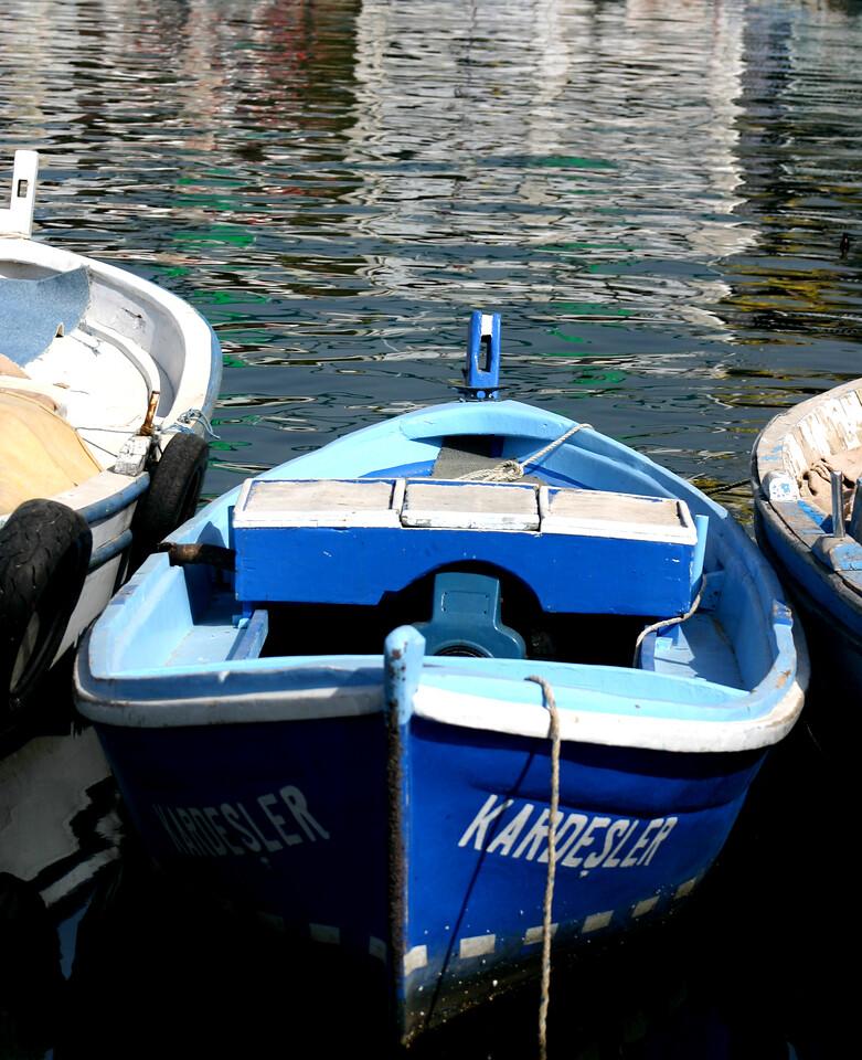 Fishing boats, Port of Kusadasi, Turkey