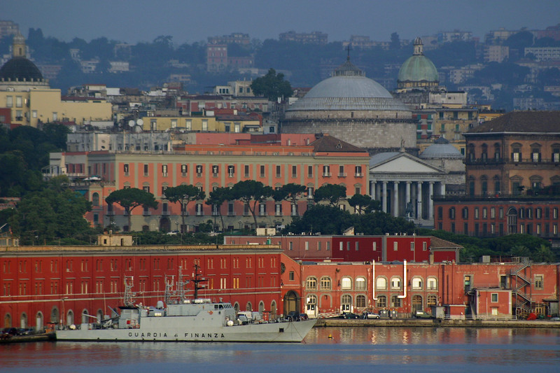 Naples from the Ship..