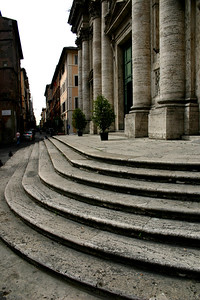 The Streets of Roma, public squares, fountains, monuments and street vendors - walking tour - summer 2007