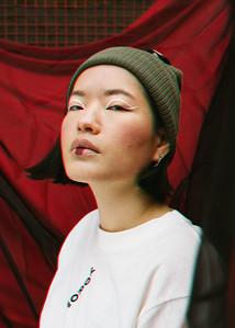 Tribe Camo by Yumi Saki; Photographer Katy Watson; MUA Shabana Kausar