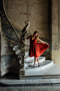 2019_11_22- KTW_Bailando-Journey-Red_Dress-Stairwell_036-2