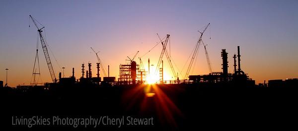 IPSCO , Regina at sunset