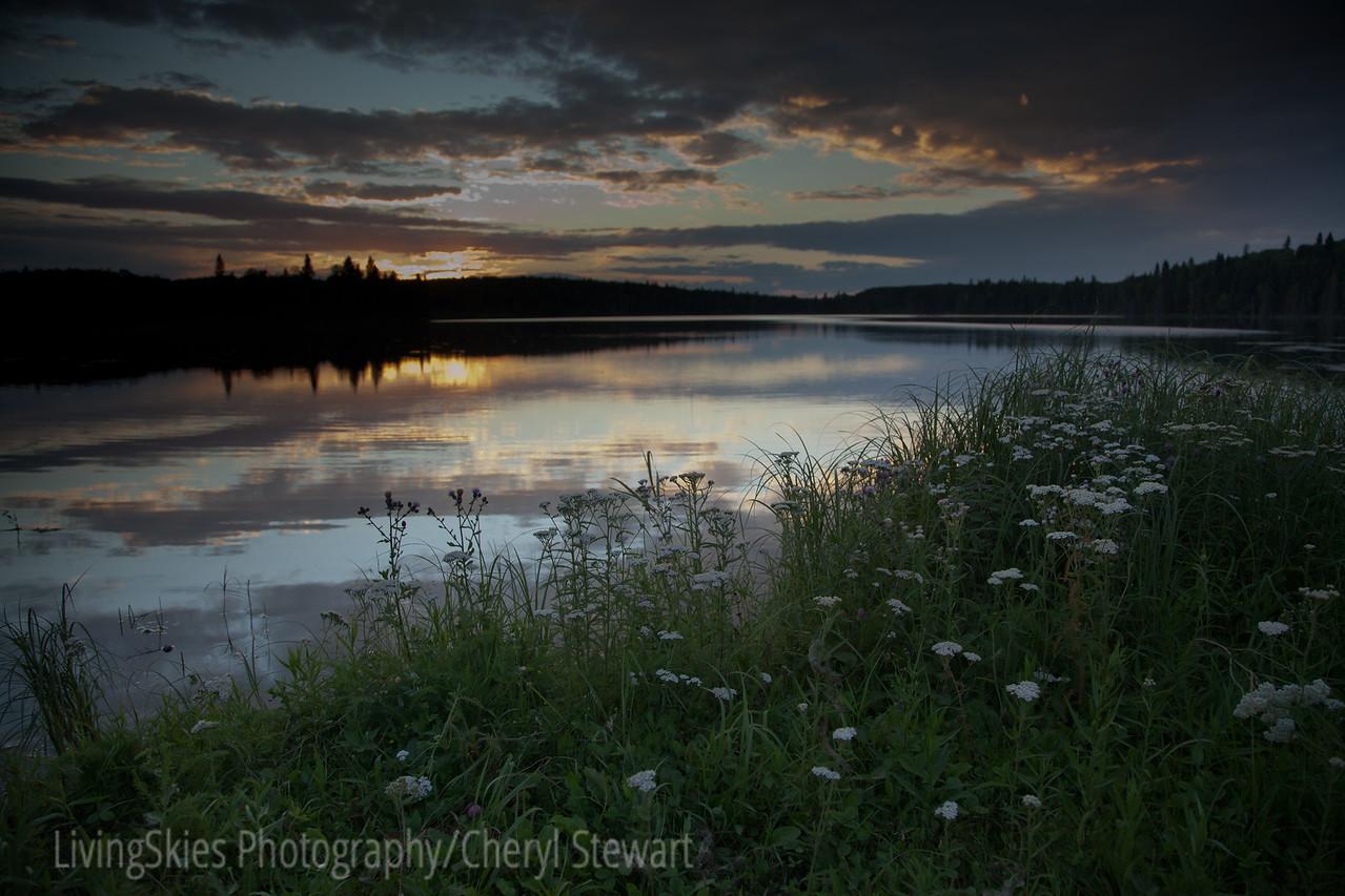 Springtime sunset - Duck Mountain Sask