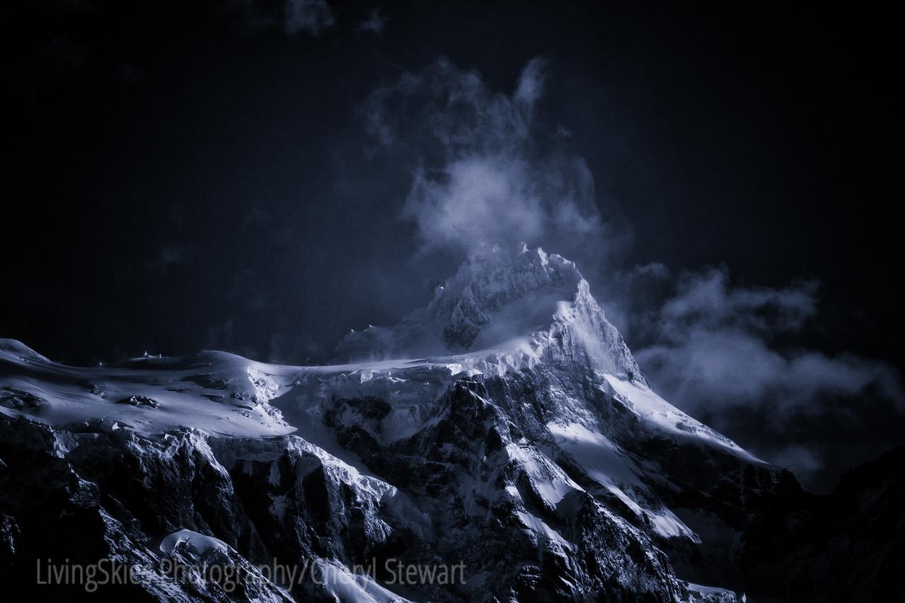 Patagonia scenic at night