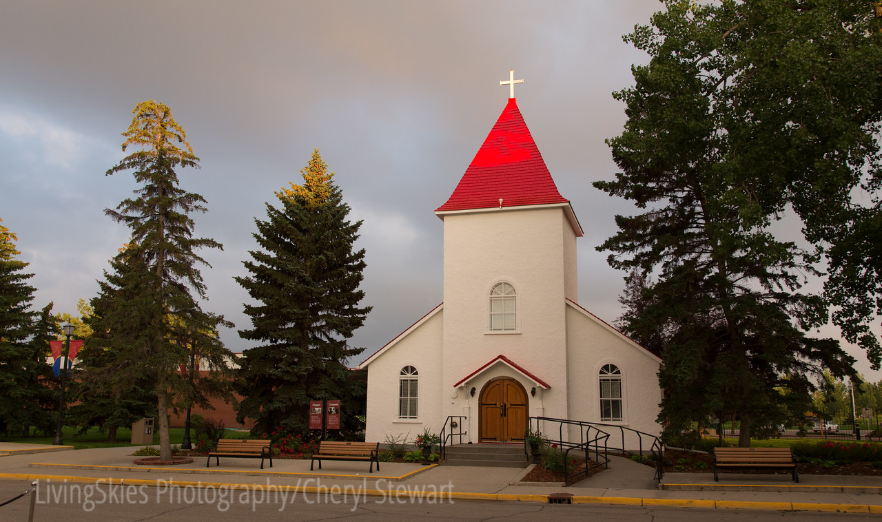 RCMP Chapel, this is the oldest building in Regina, and has the most amazing stained glass windows!
