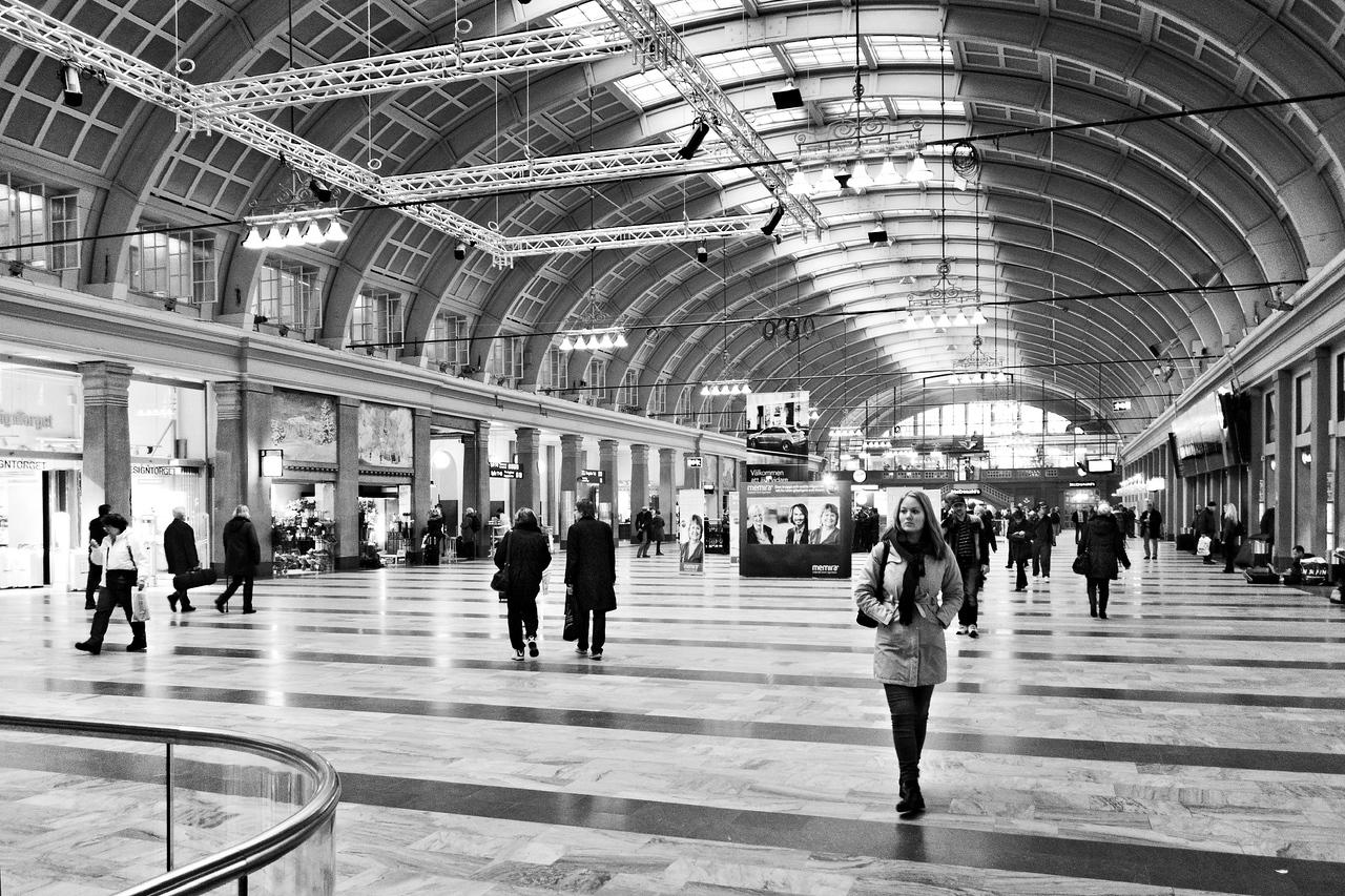 Stockholm Central Station / Стокгольмский вокзал