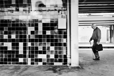 Subway Passenger / Пассажир в метро
