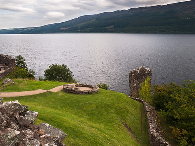 Urquhart Castle and Ness Loch