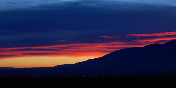 Sunrise above the Mts.