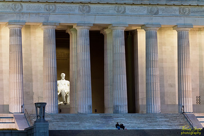 Looking to the East; The Lincoln Memorial; Washington, D.C.