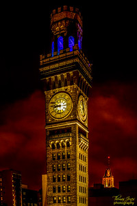 The Blue Bottle Belfry; The Bromo-Seltzer Tower