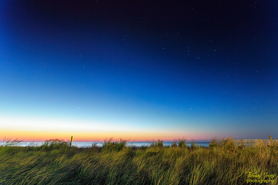 Orion Over the Dune