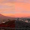 El Misti at dusk - book format - 2008-11